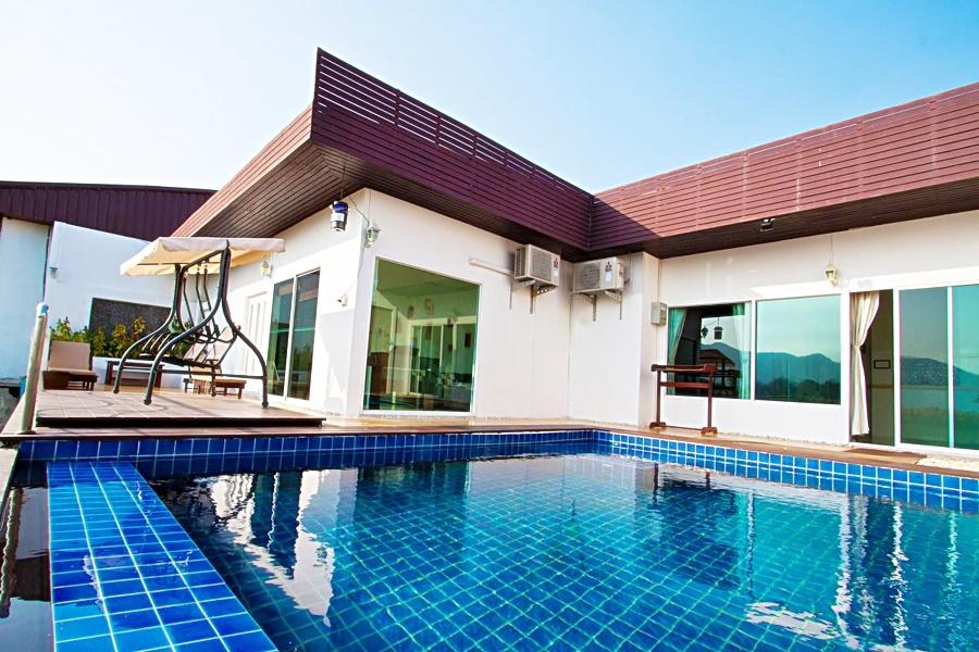 บ้านวิสต้าซันเซ็ท กาญจนบุรี พูลวิลล่า